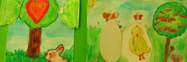 Creaciones de los niños en Chiquiarte
