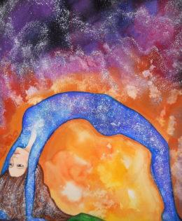 ´´Nut, diosa de la noche, guardiana del alma´´(2016)