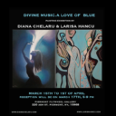 `A love of Blue. Divine Music` painting exhibition in New York