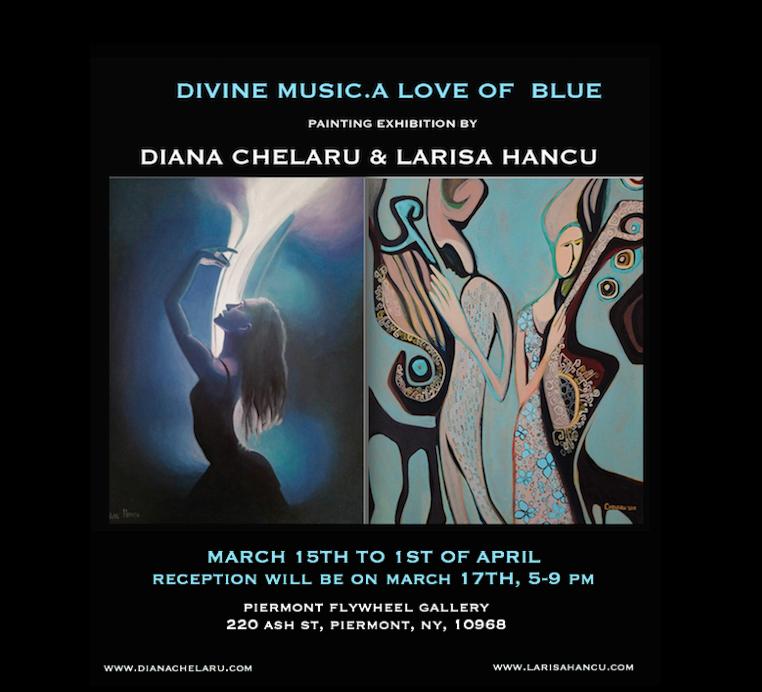Poster `Divine music.A love of blue`V final