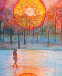 Amanecer-caminando entre dos mundos (2013)