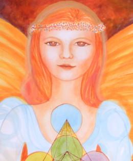 Angel (detalle, 2014)