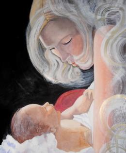 Maternidad, comunicación sagrada (2015) – vendido