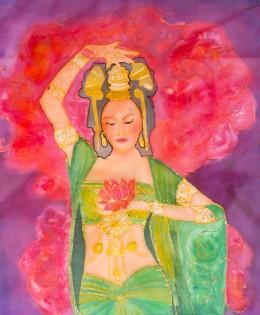 Kuan Yin,bodhisattva de la Compasión (2014)