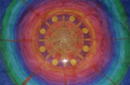 Mandala arcoiris (2012)