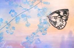 Mariposa azul (2015) – vendido